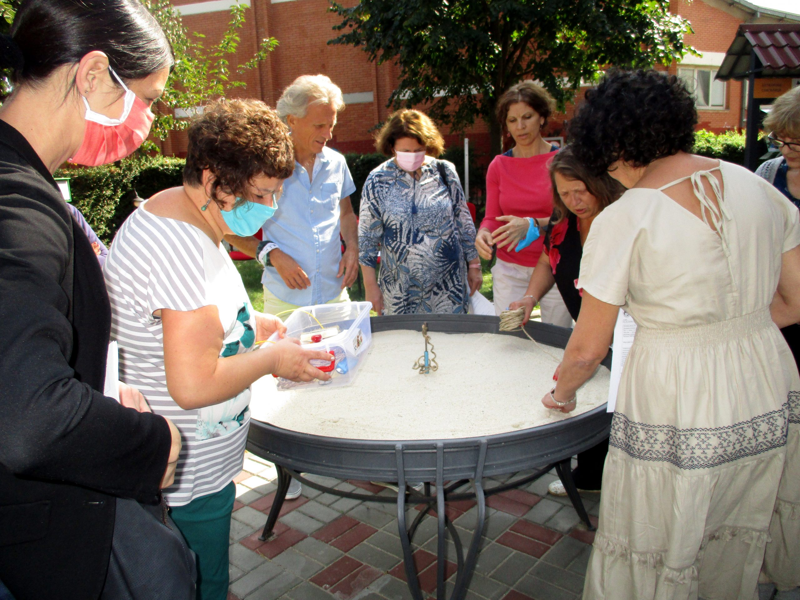 Пројекат Архимедеова бележница и број пи у Нишу